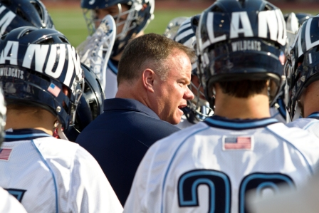 Villanova Men's Lacrosse Head Coach Mike Corrado