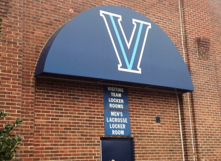 Villanova Men's Lacrosse Locker Room